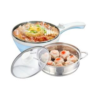 Dowai多偉1.5L蒸健康料理鍋(含蒸籠) EC-150海洋藍
