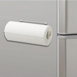 日本LEC磁吸式不鏽鋼伸縮紙巾架