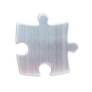 造型磁鐵 四入組 幾何小拼圖