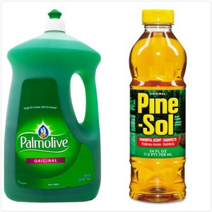 Pine Sole萬用清潔劑*3+Palmolive濃縮洗潔精(90oz)*2