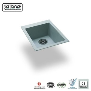 【MIDUOLI米多里】QUADRA100 金屬結晶石水槽灰白色