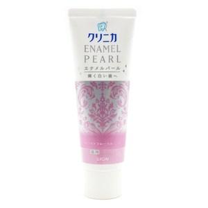 日本 獅王 固力寧佳 珍珠亮白牙膏 百花薄荷 130g 固齒佳