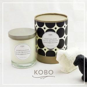 【KOBO】美國大豆精油蠟燭 - 葡萄牙橄欖-330g/可燃燒80hr