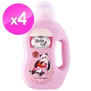 【Moms Gift】7無 嬰幼兒洗衣精1000mlX4件組(即期品)