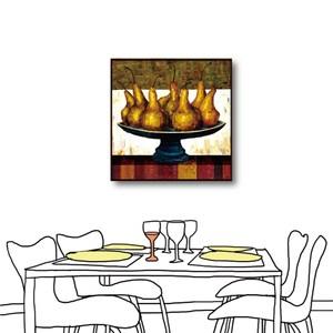 24mama掛畫-單聯式 水果無框畫 居家裝飾 50x50cm