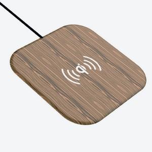 木紋桌面超薄型無線充電器