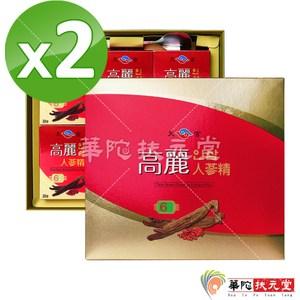 【華陀扶元堂】天官高麗人蔘精2盒(6瓶/盒)