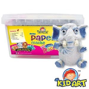KID ART 美國創意手作黏土 紙黏土(長鼻象)