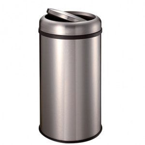 CEO旗艦不鏽鋼搖蓋垃圾桶22L