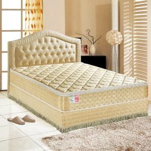 睡芝寶-正三線-矽膠-蜂巢式獨立筒床墊厚24cm-VIP限定雙人5尺