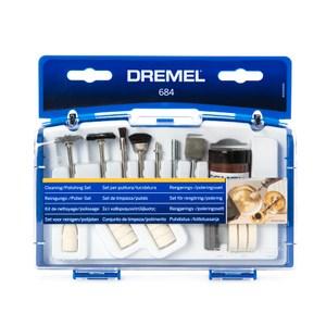 Dremel 684-01 砂磨拋光20件組