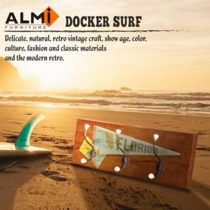 DOCKER SURF- HANGCLOTHES 三桿造型壁架