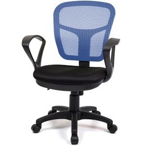 aaronation愛倫國度 小可愛系列雙扶手秘書椅 i-RS-170藍