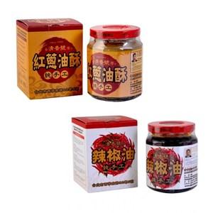 (組)清香號-紅蔥油酥 1入+辣椒油 1入