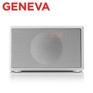 Geneva Classic S HIFI 藍牙鬧鐘收音機喇叭白色