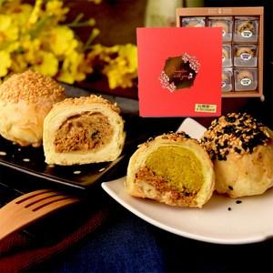 麻吉爸.印加果油酥餅9入禮盒(純素)(附提袋)咖哩酥餅9入禮盒(純素)(附提袋)