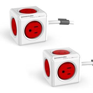 《1+1特惠》荷蘭PowerCube 擴充插座-延長線1.5m雙件組