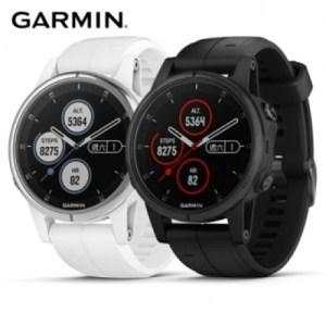 Garmin fenix 5S Plus 行動支付音樂GPS複合式心率亮銀白