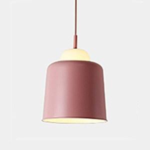 HONEY COMB 北歐風馬卡龍顯色餐吊燈 四色 B款 粉色 TA8838
