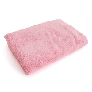 Lovel 7倍強效吸水抗菌超細纖維浴巾(芭比粉)
