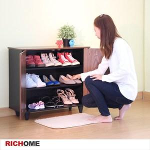 【RICHOME】凱蒂雙門透氣鞋櫃