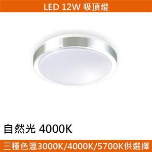 HONEY COMB LED 12W鋁框吸頂燈 自然光 T04934