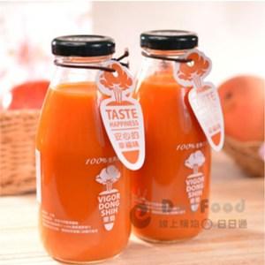 【東勢果菜生產合作社】100%全果蔬果汁 24瓶(290ml/瓶)