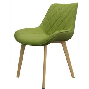 【YOI傢俱】維洛納休閒椅-綠布面