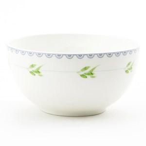 HOLA 綺語骨瓷飯碗 11.5cm 綠葉