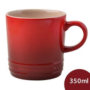 Le Creuset 馬克杯 350ml 櫻桃紅 厚實款