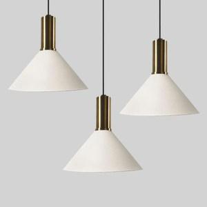 HONEY COMB 經典工業風奢華三吊燈 白色TA82892 圓盤款