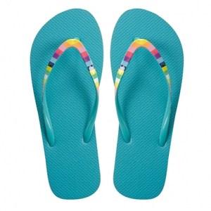 HOLA home舒活夾腳拖鞋 繽紛藍色 M