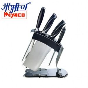 [特價]米雅可-黑晶七件式刀具組