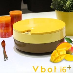 【Vbot】二代i6蛋糕機器人 超級鋰電池智慧掃地機 極淨濾網型-芒果芒果