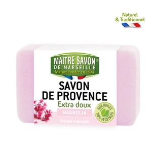 【法國 玫翠思】普羅旺斯植物皂100g(木蘭花)-6入