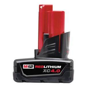 美國品牌 Milwaukee 米沃奇 12V 鋰電專用電池 4.0AH M12B4