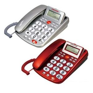 普騰 來電顯示電話 PTE-003 (紅)