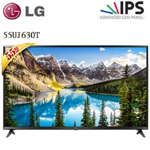 LG 55型 4K UHD 連網液晶電視 55UJ630T 邊框黑