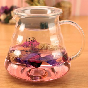 Artist精選 耐熱玻璃雲朵咖啡壺650ml
