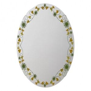 花園藤蔓橢圓掛壁鏡68*48
