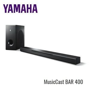 (限量)YAMAHA 家庭劇院聲霸 MusicCast BAR 400(YAS-408)