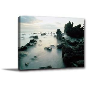 24mama掛畫-單聯式 雲海風水無框畫 40x30cm