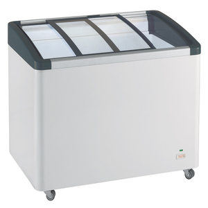 德國利勃LIEBHERR 3尺4 弧型玻璃推拉冷凍櫃270L(EFI-2753)