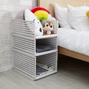 【H&R安室家】日系可疊式抽取收納箱(6大1小)
