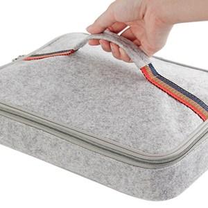 【PUSH!餐具用品】保溫便當盒提袋(1入小號)E89