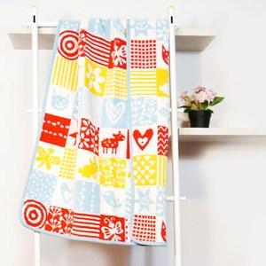 瑞典Klippan有機棉毯--北歐拼貼