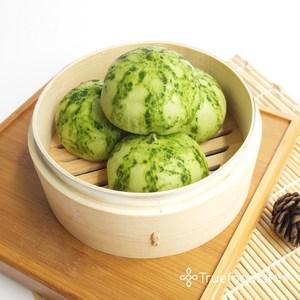 【TRUEFOODS臻盛食】擬真西瓜豆沙包 10入/包(6包裝)