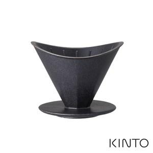 日本KINTO OCT八角陶瓷濾杯(2杯量)-黑