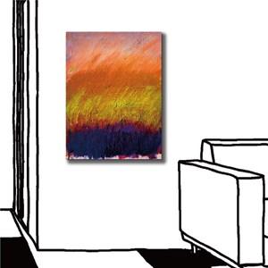 24mama掛畫-單聯式 熱情 現代藝術 抽象無框畫-30x40cm