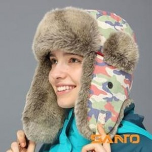 Santo雷鋒帽冬天戶外防寒帽保暖帽蒙古帽(輕薄版)M-30系列M-32,深海迷彩